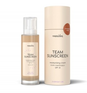 Resibo Krem nawilżający SPF30 - Team Sunscreen 50 ml